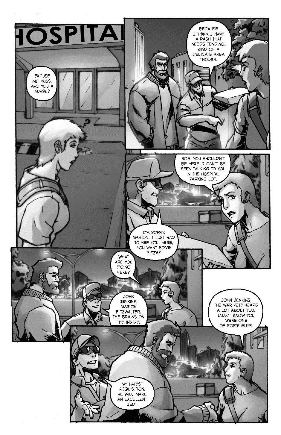 ROBIN HOOD: OUTLAW OF THE 21ST CENTURY PG. 12