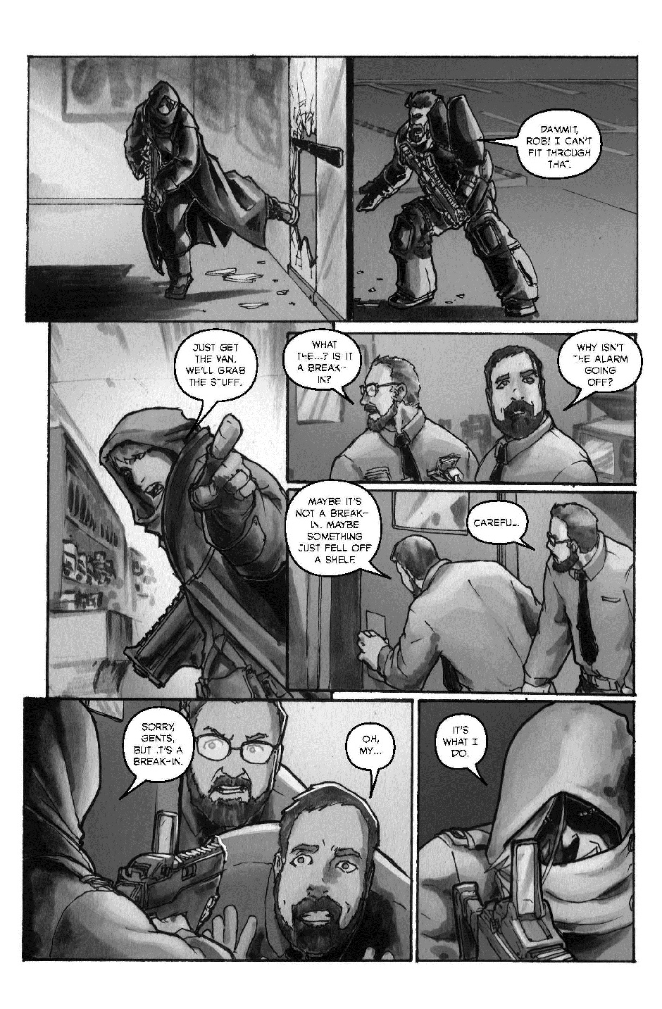 ROBIN HOOD: OUTLAW OF THE 21ST CENTURY PG. 21